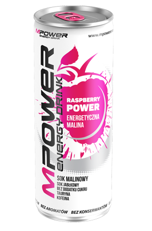 mPower malinowy